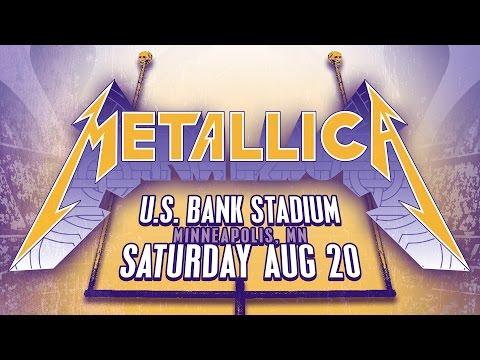 Metallica 8/20/16 Live at U.S. Bank Stadium - LiveMetallica.com