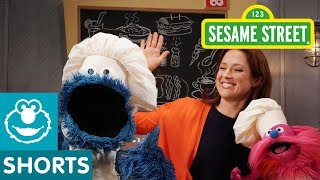 Sesame Street: Making Zachos with Ellie Kemper | Cookie Monster's Foodie Truck