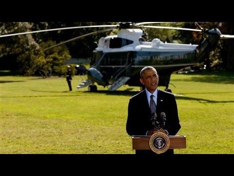 Obama Announces Coalition Airstrikes on ISIS in Syria