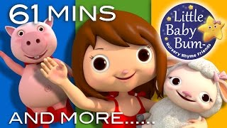 Little Bo Peep | Plus Lots More Nursery Rhymes | 61 Minutes Compilation from LittleBabyBum!