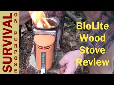 Bio Lite Stove review   Survival Gear