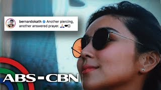 'Another answered prayer': Kathryn Bernardo, ipinakita ang bagong ear piercing | UKG