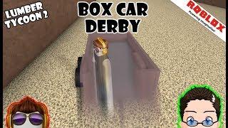 Roblox - Lumber Tycoon 2 - Box Car Derby!