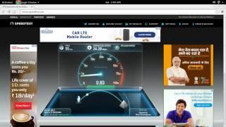 Reliance Jio 4G LTE Speed Test Chennai Tamil Nadu