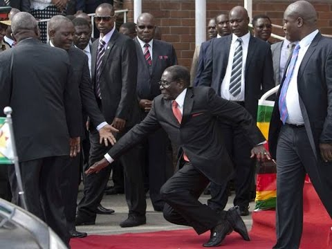 '27 Bodyguards Punished' After Zimbabwe Dictator Mugabe Trips & Falls