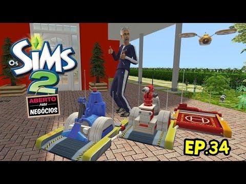 The Sims 2: Os robôs dos Ribeiro [EP.34]