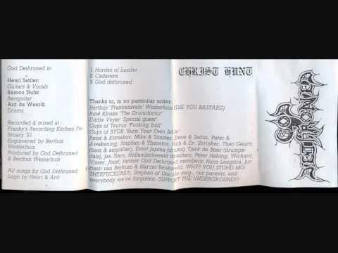 God Dethroned - Christhunt Full Demo('91)