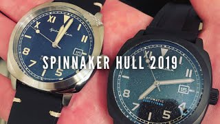 Spinnaker Hull SP-5070-02 and Tactical Watch Reviews - Panerai California Dials!