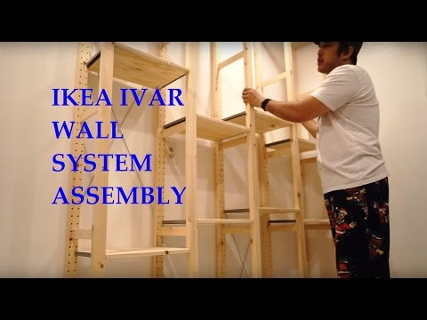 IKEA IVAR System Shelves Full Assembly and Review
