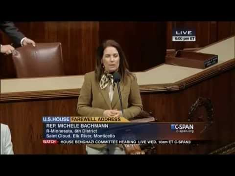 Rep. Michele Bachmann's Final Speech on House Floor