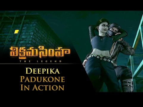Deepika Padukone In Action - Vikramasimha - The Legend