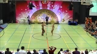 Franziska Schmidt & Paul Weiland - Schwäbische Meisterschaft 2015