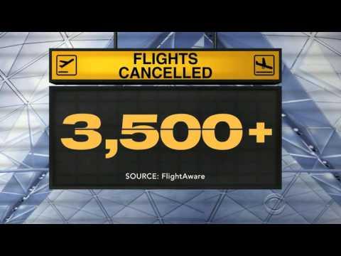 Flight Cancellations Cause Major Headache