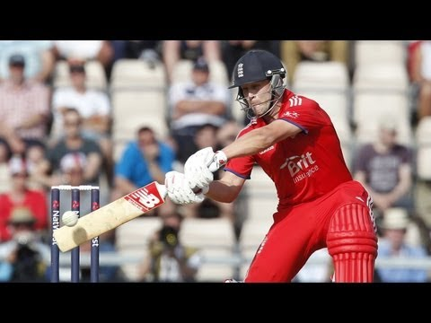 Trott hits unbeaten ton - highlights from 2nd ODI