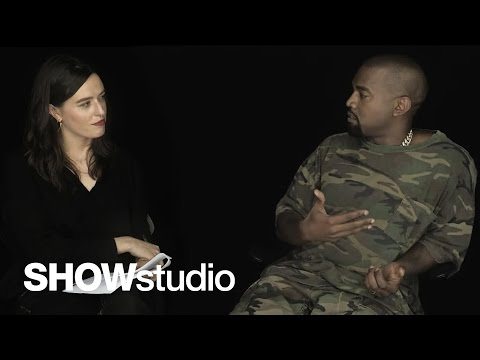 Kanye West Talks Fashion, Politics, Music & More With SHOWstudio