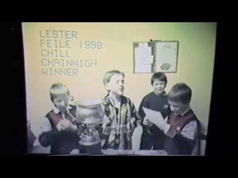 Lester Ryan gives victory speech in Irish after speaking competition