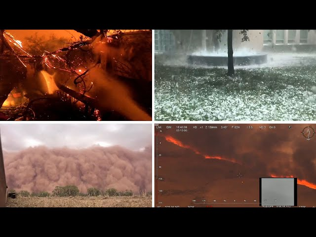 Australia39s apocalyptic weather - what is happening and why?