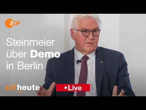 Berlin BundesprГsident Steinmeier Гber VorfГlle am Reichstag