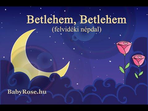 Betlehem, Betlehem, a te határidban (felvidéki népdal)
