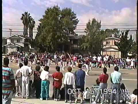 Rubidoux High School Delta Alliance Corps @ the 1994 Buckboard Parade