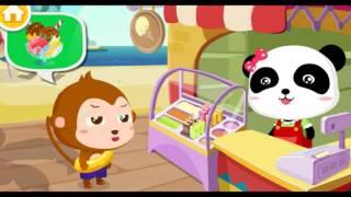 мультики для детей Малыш панда Кики Готовим мороженое все серии