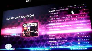 Dance central-Song list