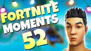 ONE IN A MILLION SNOWBALL SHOT!! (CRAZY)  | Fortnite Daily Funny and WTF Moments Ep. 52