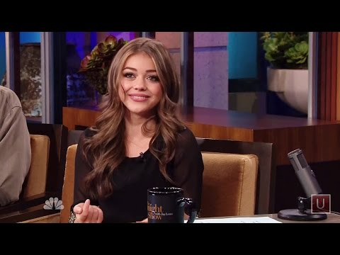 Sarah Hyland Interview [HD]