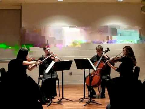 Fish and the Ladies - Haydn Emperor Quartet, mvmt. 3