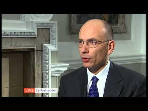 EU crisis: Italian prime minister interview