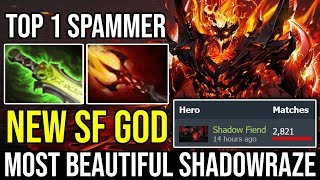 NEW SF GOD Beautiful Shadowraze 5 Men Gank Can't Kill Him by TOP 1 SF SPAMMER IN WORLD DOTA 2