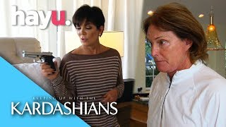 Bruce Insists On Owning A Gun | Keeping Up With The Kardashians