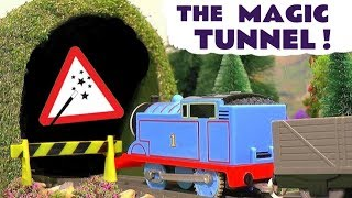 Thomas and Friends Magic Tunnel Toy Train Story for kids and children with Trackmaster Trains TT4U