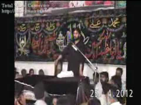 Zakir Waseem Abbas Baloch 3 Jamadi-ul-sani (part 1) video