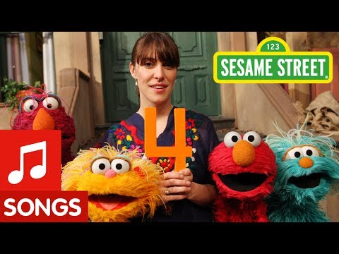 Sesame Street: Feist sings 1,2,3,4 Video