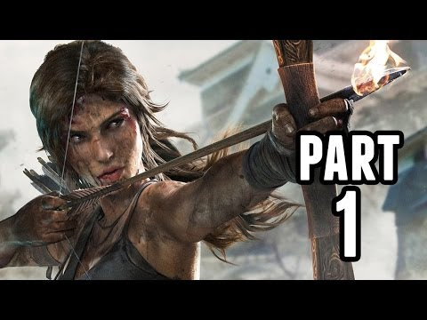 Tomb Raider Definitive Edition Walkthrough Part 1 - LARA'S BACK - PS4/Xbox One Gameplay