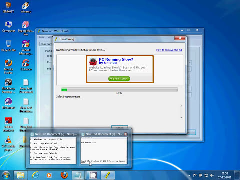 How to make a bootable USB Flash Drive to install Windows XP (HD & 3D)
