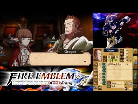 Fire Emblem: Awakening DLC Map: The Future Past 1 Hard Classic Mode
