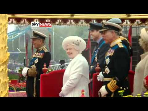 The Queen's Diamond Jubilee Weekend: Highlights