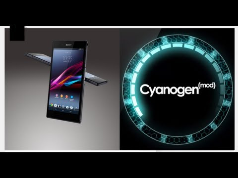 How to: Flash CWM. then Cyanogen Mod 10.2 on the Xperia Z Ultra