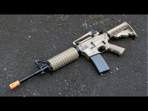 G&G Gas Blowback Combat Machine M4 Review