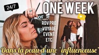 1 Semaine Dans Ma Vie D Influenceuse Rdv Pros Voyage Events Etc
