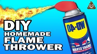 DIY Flame Thrower - 5 Minute Craps #3