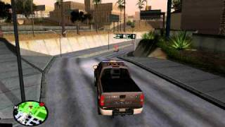 Bone County Sheriff Silverado Pursuit - GTA SA