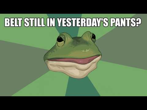 PANTS - Foul Bachelor Frog