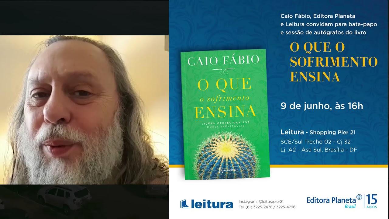 Encontro com Caio Fábio! Tarde de autógrafos em Brasília. -  09 de Junho. 16h.