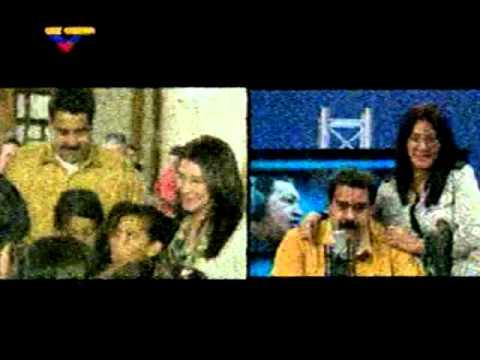 Obsequio de Prensa Presidencial: Nicolás Maduro y Cilia Flores