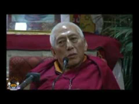 H.H THE DALAI LAMA'S THREE MAIN COMMITMENTS BY PROF SAMDHONG RINPOCHE PART 3