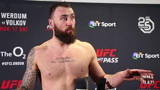 Paul Craig on submission win over Magomed Ankalaev at UFC Fight Night London