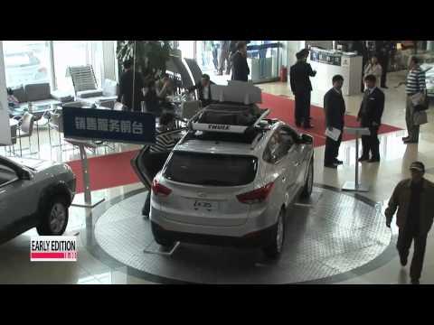 Hyundai's sales growing fast in China  현대 기아차 한국선 파업홍역, 중국선 쾌속질주